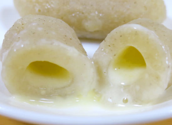 富山大学と新商品開発中!とろとろチーズ入 かまぼこニョッキ